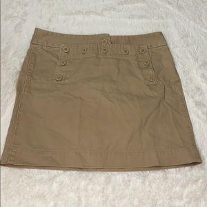 J.Crew Khaki Bottom Women's Skirt Size 4